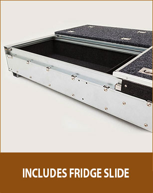 New Landcruiser 100 Series Gxl Rear Steel Frame Storage