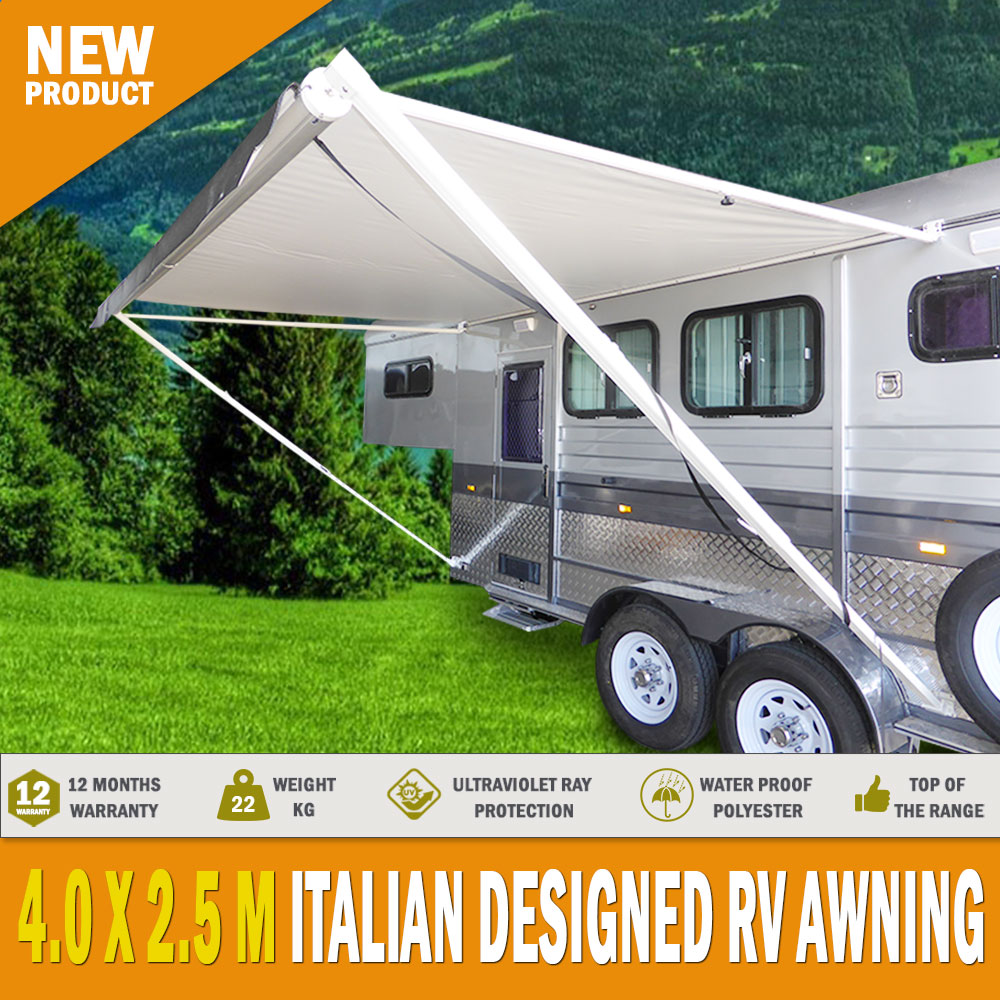New 16 Ft Awning Replacement Pvc Vinyl Fabric Caravan