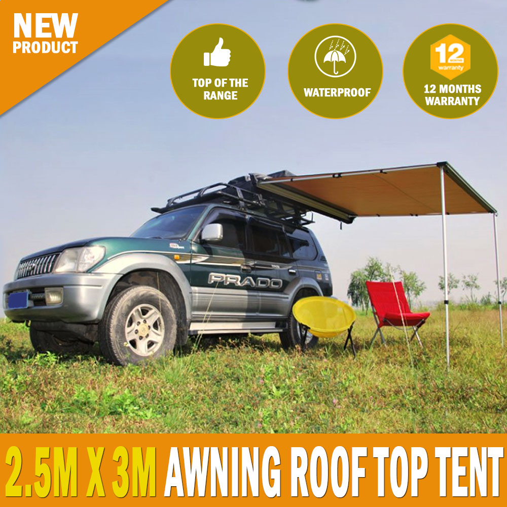 New 18 Ft Replacement Caravan Roll Out Awning Pvc Vinyl