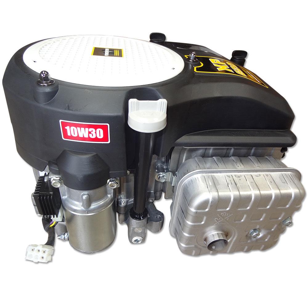 hp vertical shaft engine motor ride  mower  brand  fuel pump ebay