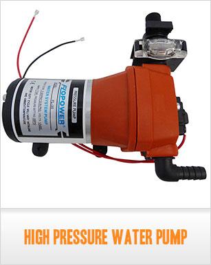 12 volt water pressure pump 12v pump 12 5 l m 35 psi ok for Water pump filter box