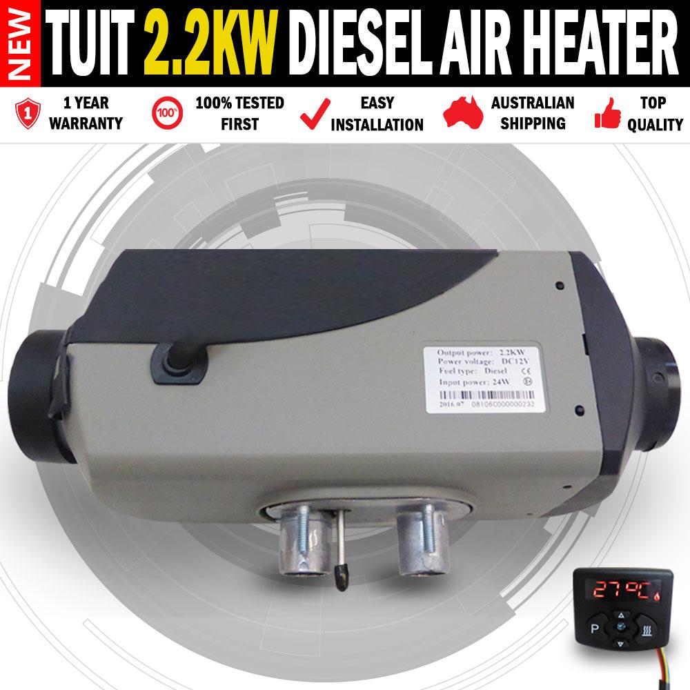 new 12v planar 5kw diesel air heater caravan motorhome rv