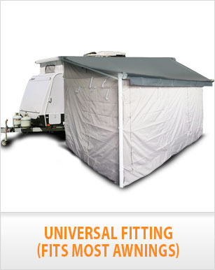 13Ft Annexe Wall Kit for Caravan Roll Out Awning, Carefree ...
