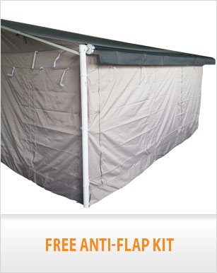 NEW 17Ft Annexe Wall Kit For Caravan Roll Out Awning ...