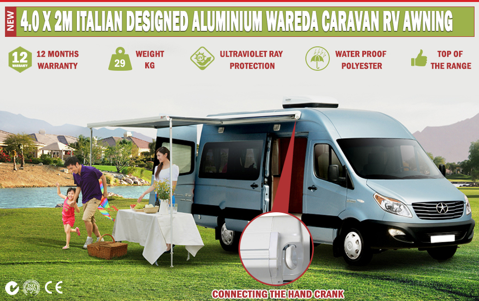 Caravan Awning Roll Out