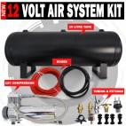 Air Compressor 19L Tank kit 12V Airbag, Tyre Inflator 120Psi 1.75Cfm