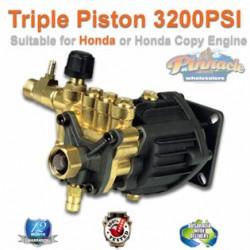 3200 PSI TRIPLE PISTON AXIAL HIGH PRESSURE WATER PUMP