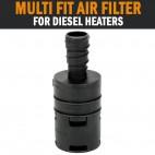Multi Fit Air Filter Silencer Dometic Eberspacher Webasto Diesel Heater