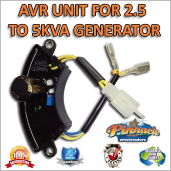 AVR, AUTO VOLTAGE REGULATOR FOR 2.5 KVA TO 5KVA DIESEL AND PEROL GENERATOR