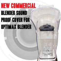 NEW COMMERCIAL BLENDER SOUND PROOF COVER FOR OPTIMAX BLENDER