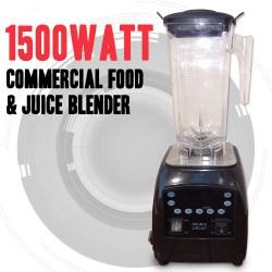 COMMERCIAL 1500WATT MULTI FUNCTION FOOD JUICE BLENDER MIXER FREE JUG
