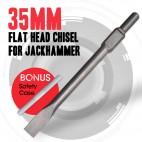 NEW Deshi 35mm Flat Head Chisel For Hitachi Jack Hammer