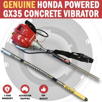 Genuine Honda GX35 Powered Portavibe Handyvib Concrete Vibrator