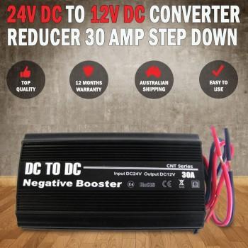 24V DC TO 12V DC Automobile Converter Reducer 30 AMP Step Down 30A