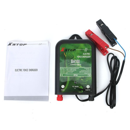 Electric Fence Tester : Km v solar power electric fence energiser charger