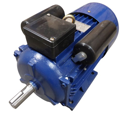 New 240v 4kw 3hp electric motor single phase 1400 rpm 4 pole for Large single phase motors