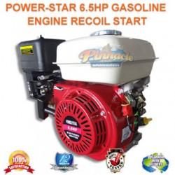 6.5HP OHV STATIONARY PETROL ENGINE HORIZONTAL SHAFT 12 MONTHS WARRANTY