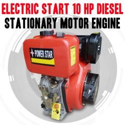ELECTRIC START 10 HP DIESEL STATIONARY MOTOR ENGINE