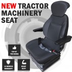 Suspension Tractor Seat Adjust - Bobcat Forklift Excavator Machinery