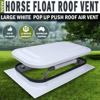 Large Horse Float Roof Air Vent Pop Up Push Roof Trailer Caravan RV