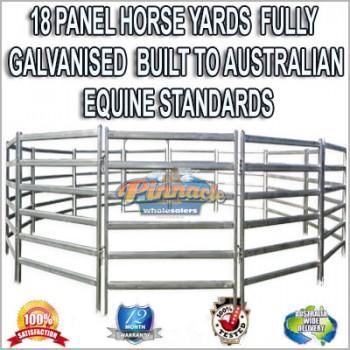 18 Panel Horse Yards Inc Gate, round Yard, Cattle Fences, Corral