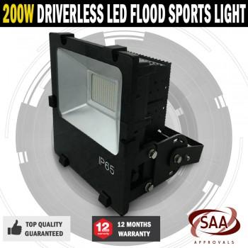 Commercial Driverless 200W 5000K LED Luminous Flood Sports Security Light