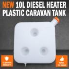 10L Diesel Heater Plastic Caravan Tank Webasto Dometic Planer Trailer