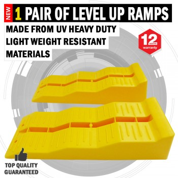 NEW 1 Pair Level Up Caravan/RV 3 Multi Level Ramps UV Heavy Duty Light Weight