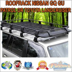 Steel Powder Coated Roof Rack For Nissan GQ GU Patrol Or Toyota Landcruiser