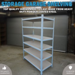 2M Metal Warehouse Racking Rack Storage Garage Shelving Shelf Shelves