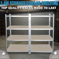 1.6 Metal Warehouse Racking Rack Storage Steel Garage Shelving Shelf Shelves