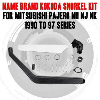 Name Brand Kokoda Snorkel Kit For Mitsubishi Pajero NH NJ NK 1990 to 97 Series