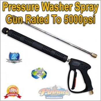 High Pressure, Pressure washer Spray Gun Lance Also Comes Quick Connect Nozzle