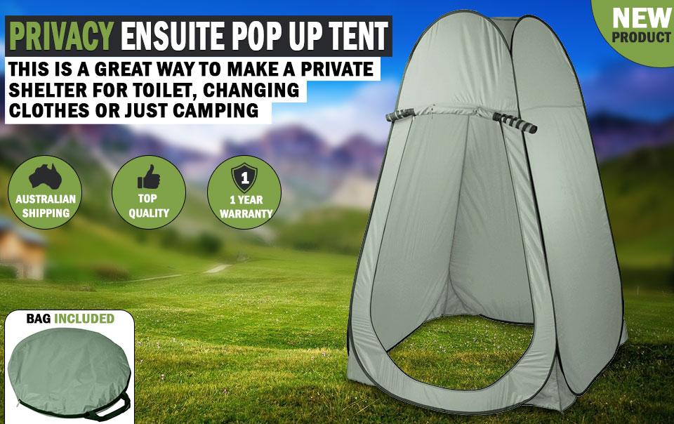 PRIVACY ENSUITE POP UP SHOWER TENT CHANGE ROOM TOILET FLIP OUT & Vehicle Parts u0026 Accessories : Privacy Ensuite Pop Up Shower Change ...